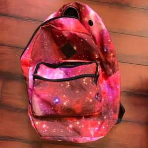 Pink Galaxy backpack